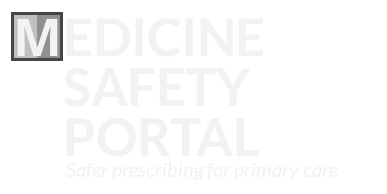 Medicines Safety Portal